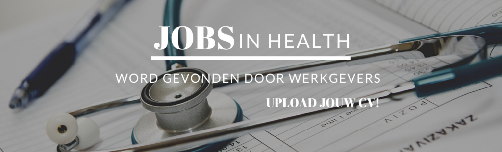 Jobs in Health - Registreer als Kandidaat